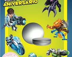 Latinha Anivers�rio - Max Steel
