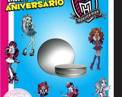 Latinha Anivers�rio - Monster High