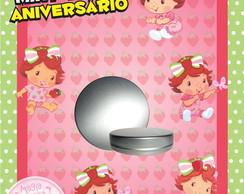 Latinha Anivers�rio - Moranguinho Baby
