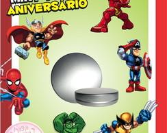 Latinha Anivers�rio - Super Hero Squad