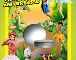Latinha Anivers�rio Tinker Bell Sininho