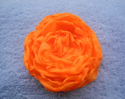 Flor Laranja para cabelo