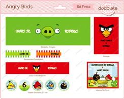 Kit Festa Digital Angry Birds