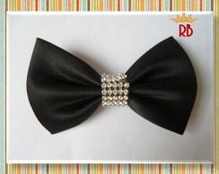 Gravatinha Borboleta com Strass