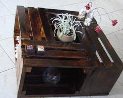 Mesa de Centro de Caixote de Frutas