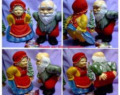 NT Papai e Mam�e Noel