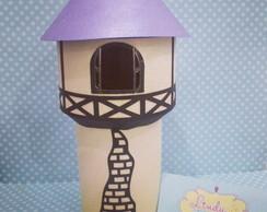 Centro de mesa Torre Rapunzel