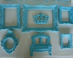 Kit espelhos Tiffany