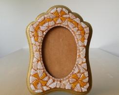Porta Retrato Retr� Dourado
