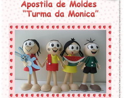 Apostila virtual moldes da Monica
