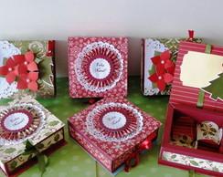 Caixa Decorada Natal