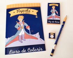 Kit de Colorir com L�pis e Borracha