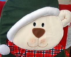 Capa para cadeira Natal - Urso