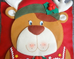 Capa para cadeira Natal - Rena