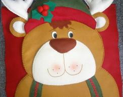 Capa para cadeira Natal - Rena Macho