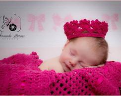 Newborn Manta e coroa