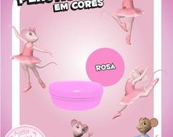 Potinho Pl�st Cores - Angelina Bailarina