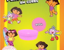 Potinho Pl�st Cores - Dora A Aventureira