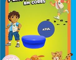 Potinho de Pl�st Cores - Go Diego Go