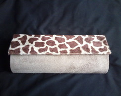 Clutchies animal print e pel�cia RNBW
