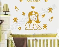 Adesivo Infantil quarto Meninas -06