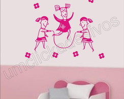 Adesivo Infantil quarto Meninas -09