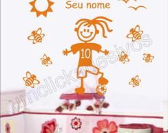 Adesivo Infantil quarto Meninas -17