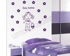 Adesivo Infantil quarto Meninas -32
