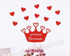 Adesivo Infantil Meninas Princesas -18
