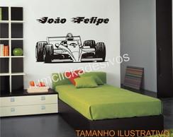 Adesivo carro corrida formula 1- 100cm