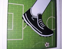 Quadro Chuteira de Futebol - Luca