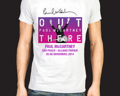 camiseta masculina - paul mccartney 2014