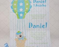 Convite Infantil Bal�o