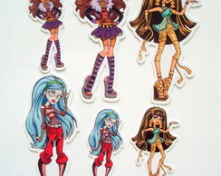Aplique Monster high (pacote 50 pe�as)