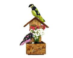 Arranjo passarinhos na casinha