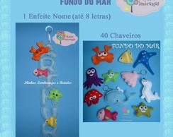 Kit Maternidade - Fundo do Mar