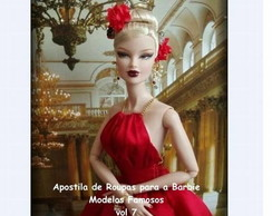 Apostila de Modelos Famosos p/ Barbie