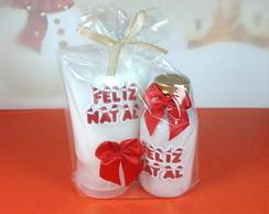 Kit Bisnaga hidratante + sabonete Natal