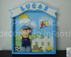 (MO 0026) Quadro maternidade Lucas