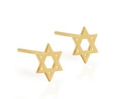 Brincos Estrela de David -Ouro