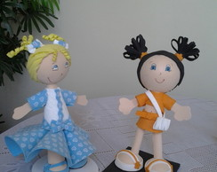 Bonecas em E.V.A.