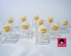 Caixa Acr�lica Mini Ovelhinha Peluda