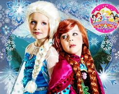 Fantasia de Elsa do filme Frozen