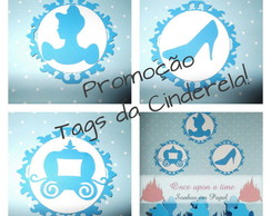 Promo��o! Kit Tags Cinderela!