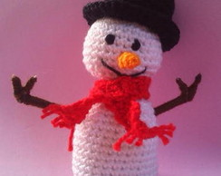 Boneco de Neve de Croch�