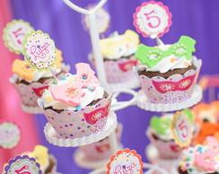 Wrapper para Cupcake Tema Carnaval