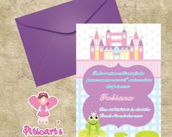 Convite Sapo Principe