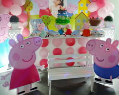 Painel Displays Decora��o Peppa LOCA��O