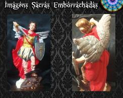 Imagem Sacra Emborrachada S�o Miguel