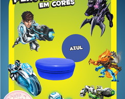 Potinho de Pl�st Cores - Max Steel